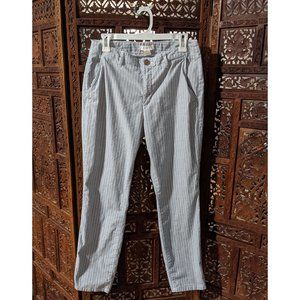 H&M ankle-length cotton chinos size 8